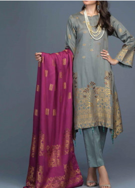 Salitex Jacquard Viscose Unstitched 3 Piece Suit ST20VJ 00210 - Winter Collection