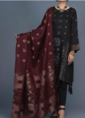 Salitex Jacquard Viscose Unstitched 3 Piece Suit ST20VJ 00213 - Winter Collection