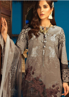 Silkoria by Sana & Sara Embroidered Lawn Unstitched 3 Piece Suit SLK19L 155A - Spring / Summer Collection