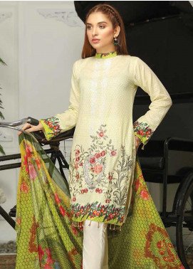 Sanam Saeed by Puri Fabrics Embroidered Lawn Unstitched 3 Piece Suit PF20EL 07 - Summer Collection