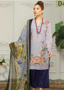 Sanam Saeed by Puri Fabrics Embroidered Lawn Unstitched 3 Piece Suit PF20EL 09 - Summer Collection