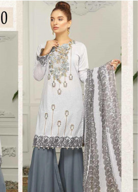 Sanam Saeed by Puri Fabrics Embroidered Lawn Unstitched 3 Piece Suit PF20EL 10 - Summer Collection