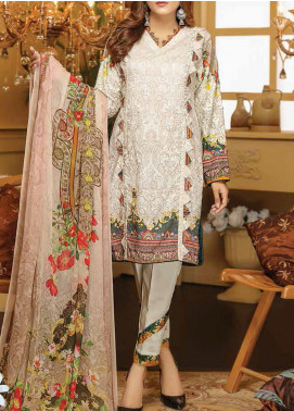 Sanam Saeed by Puri Fabrics Embroidered Viscose Unstitched 3 Piece Suit SS20CK 02 - Winter Collection