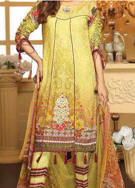 Sanam Saeed by Puri Fabrics Embroidered Viscose Unstitched 3 Piece Suit SS20CK 06 - Winter Collection
