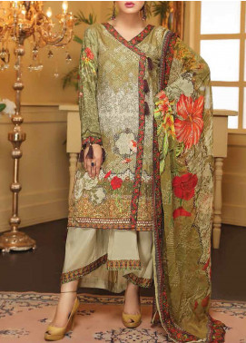 Sanam Saeed by Puri Fabrics Embroidered Viscose Unstitched 3 Piece Suit SS20CK 10 - Winter Collection