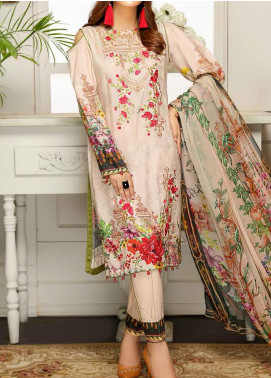 Sanam Saeed by Puri Fabrics Embroidered Viscose Unstitched 3 Piece Suit SS20JV 06 - Winter Collection