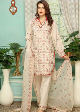 Puri Fabrics Embroidered Lawn Unstitched 3 Piece Suit PF20SE 10 - Spring / Summer Collection