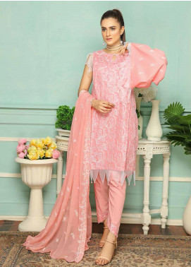 Puri Fabrics Embroidered Lawn Unstitched 3 Piece Suit PF20SE 2 - Spring / Summer Collection