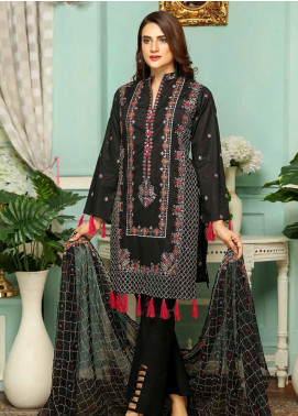 Puri Fabrics Embroidered Lawn Unstitched 3 Piece Suit PF20SE 6 - Spring / Summer Collection