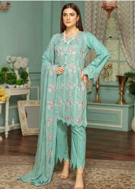 Puri Fabrics Embroidered Lawn Unstitched 3 Piece Suit PF20SE 1 - Spring / Summer Collection