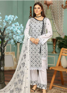 Puri Fabrics Embroidered Lawn Unstitched 3 Piece Suit PF20SE 5 - Spring / Summer Collection