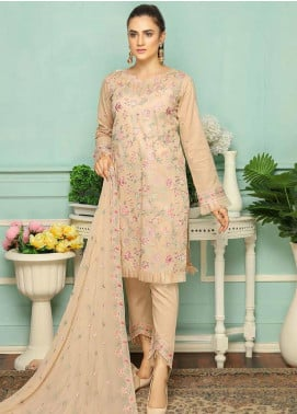 Puri Fabrics Embroidered Lawn Unstitched 3 Piece Suit PF20SE 3 - Spring / Summer Collection