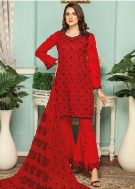 Puri Fabrics Embroidered Lawn Unstitched 3 Piece Suit PF20SE 8 - Spring / Summer Collection