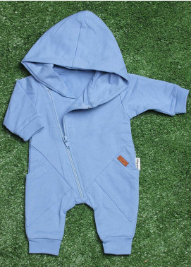 Sanaulla Exclusive Range  Fancy Boys Rompers -  113589 Sk-Blue