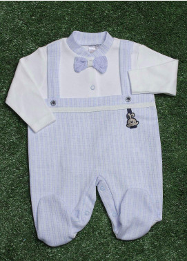 Sanaulla Exclusive Range  Fancy Rompers for Boys -  2120 Sk-Blue