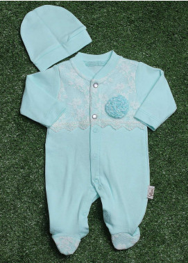 Sanaulla Exclusive Range  Fancy Boys Rompers -  213597 Ferozi