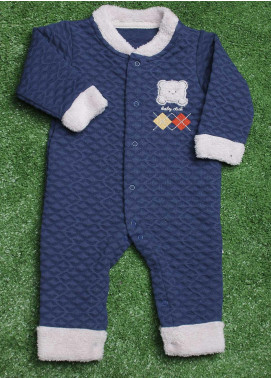 Sanaulla Exclusive Range  Fancy Rompers for Boys -  213756 N-Blue
