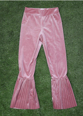 Sanaulla Exclusive Range Fancy Velvet Stitched Tights 2013 Pink