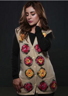 Sanaulla Exclusive Range Fancy Woolen  Sweaters S20SW 144865 - Woolen Women Sweaters