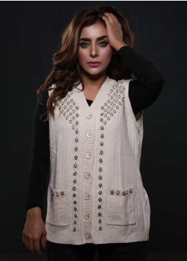 Sanaulla Exclusive Range Fancy Woolen  Sweaters S20SW 253809 - Woolen Women Sweaters