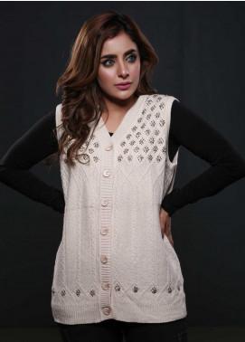 Sanaulla Exclusive Range Fancy Woolen  Sweaters S20SW 253812 - Woolen Women Sweaters