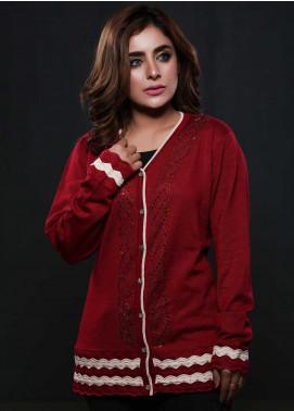 Sanaulla Exclusive Range Fancy Woolen  Sweaters S20SW 253818 - Woolen Women Sweaters