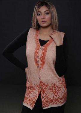 Sanaulla Exclusive Range Fancy Woolen  Sweaters S20SW 283304 - Woolen Women Sweaters