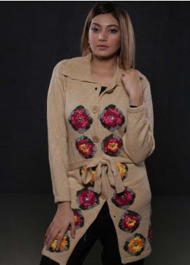 Sanaulla Exclusive Range Fancy Woolen  Sweaters S20SW 283451 - Woolen Women Sweaters