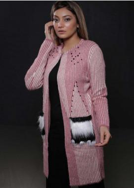 Sanaulla Exclusive Range Fancy Woolen  Sweaters S20SW 328355 - Woolen Women Sweaters