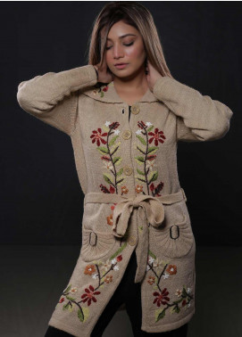 Sanaulla Exclusive Range Fancy Woolen  Sweaters S20SW 328371 - Woolen Women Sweaters