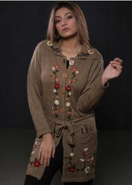 Sanaulla Exclusive Range Fancy Woolen  Sweaters S20SW 328373 - Woolen Women Sweaters