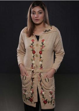 Sanaulla Exclusive Range Fancy Woolen  Sweaters S20SW 328374 - Woolen Women Sweaters
