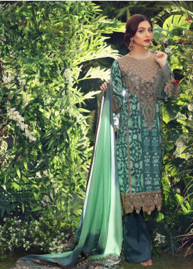 Sanaz by Sable Vogue Embroidered Karandi Unstitched 3 Piece Suit SSV19W 01 - Wedding Collection