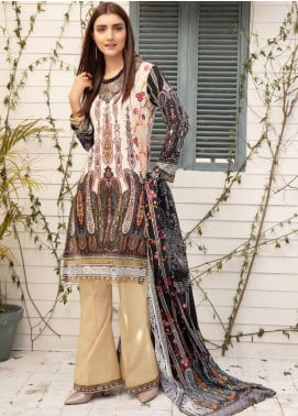 Sanoor by Noor Fatima Embroidered Lawn Unstitched 3 Piece Suit SNO20L 1043 - Summer Collection