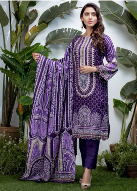 Sanoor Bena by Noor Fatima Embroidered Lawn Unstitched 3 Piece Suit SNO19BL 1032 - Spring / Summer Collection