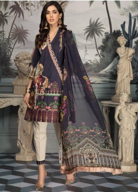 Sanoor by Noor Fatima Embroidered Lawn Unstitched 3 Piece Suit SNO19E 142 - Festive Collection
