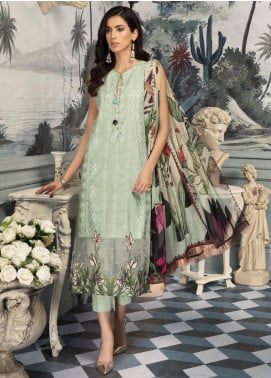 Sanoor by Noor Fatima Embroidered Lawn Unstitched 3 Piece Suit SNO19E 149 - Festive Collection