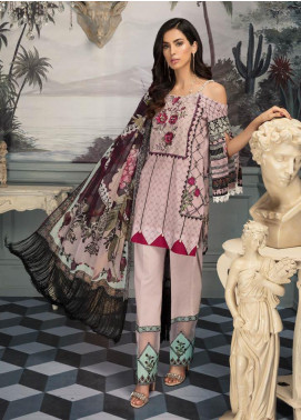 Sanoor by Noor Fatima Embroidered Lawn Unstitched 3 Piece Suit SNO19E 150 - Festive Collection