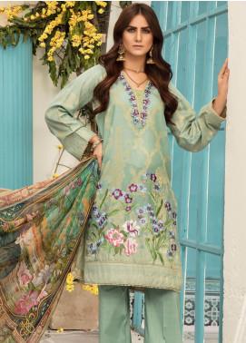 Sanoor by Noor Fatima Embroidered Jacquard Unstitched 3 Piece Suit SNO19F 124 - Festive Collection
