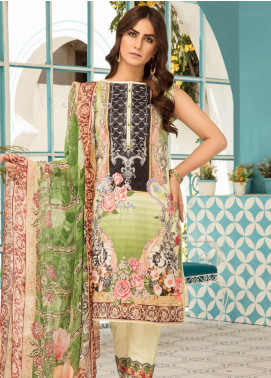 Sanoor by Noor Fatima Embroidered Lawn Unstitched 3 Piece Suit SNO19F 127 - Festive Collection