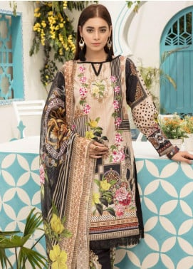 Sanoor by Noor Fatima Embroidered Lawn Unstitched 3 Piece Suit SNO19F 128 - Festive Collection