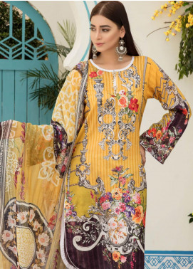 Sanoor by Noor Fatima Embroidered Lawn Unstitched 3 Piece Suit SNO19F 130 - Festive Collection