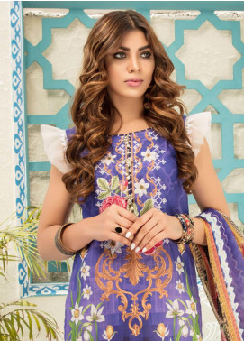 Sanoor by Noor Fatima Embroidered Lawn Unstitched 3 Piece Suit SNO19F 131 - Festive Collection
