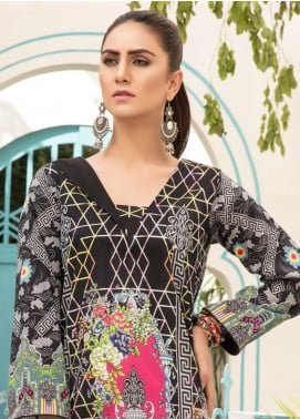 Sanoor by Noor Fatima Printed Lawn Unstitched Kurties SNO19F 869 - Festive Collection