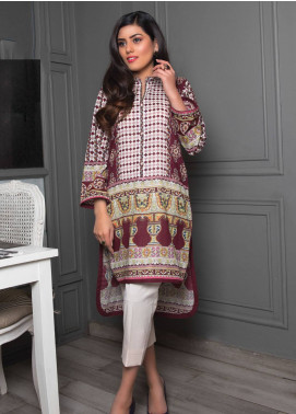 Sanoor by Noor Fatima Printed Lawn Unstitched Kurties SNO19K 856 - Spring / Summer Collection