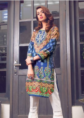 Sanoor by Noor Fatima Printed Lawn Unstitched Kurties SNO19K 857 - Spring / Summer Collection