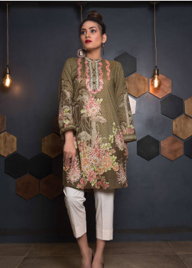 Sanoor by Noor Fatima Embroidered Lawn Unstitched Kurties SNO19K 862 - Spring / Summer Collection