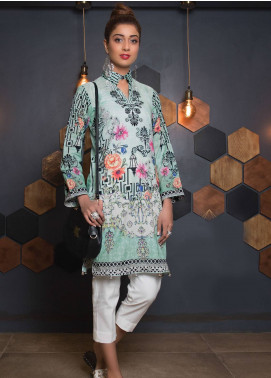 Sanoor by Noor Fatima Embroidered Lawn Unstitched Kurties SNO19K 865 - Spring / Summer Collection