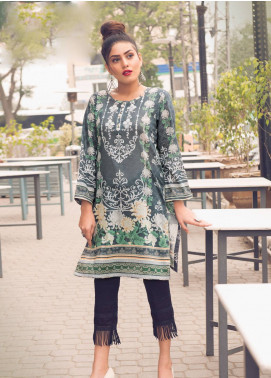 Sanoor by Noor Fatima Embroidered Lawn Unstitched Kurties SNO19K 866 - Spring / Summer Collection