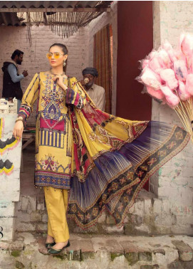 Sanoor by Noor Fatima Embroidered Lawn Unstitched 3 Piece Suit SNO20M D-188 - Summer Collection